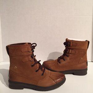 Ugg Women's Azaria Chestnut Waterproof Duck Boots